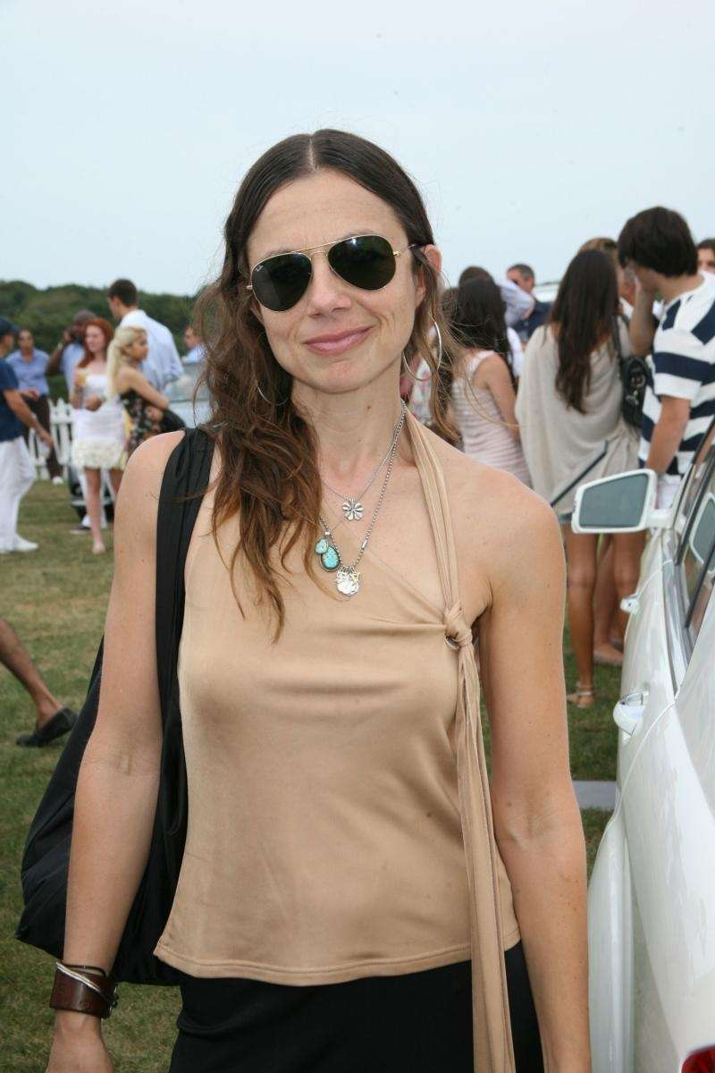 Actress Justine Bateman attends the Mercedes Benz Polo