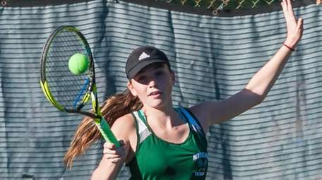 Westhampton's Brooke Del Prete hits during the Long