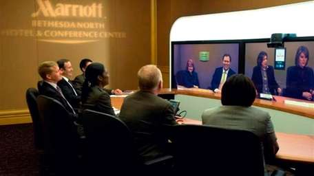 The Marriott's GoThere Virtual Meetings are part of