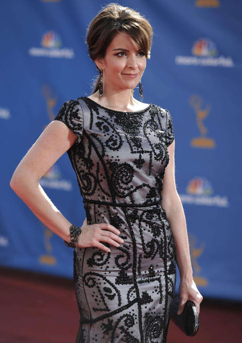 Tina Fey arrives at the 62nd Primetime Emmy