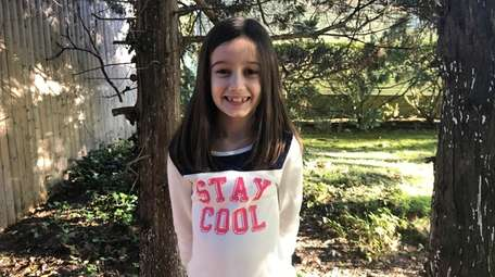 Angelica Dee Cunningham, 7, of Huntington, wrote a