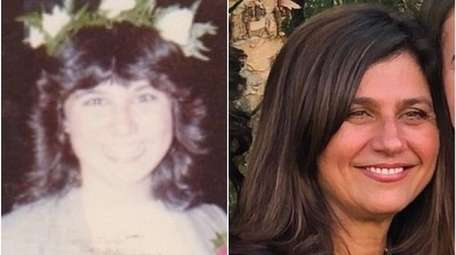 Patti Albano, then and now.