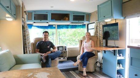 Long Island couple Kevin Quiambao, left, and Ashley