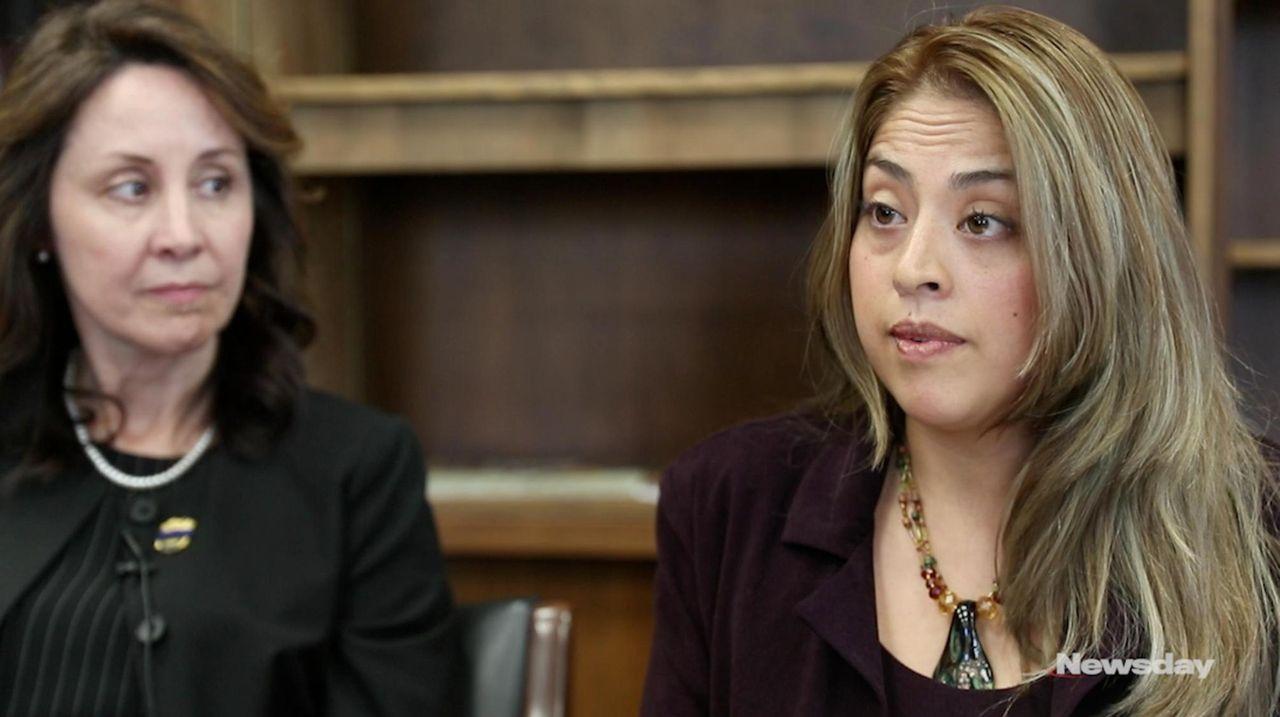 Lizbeth Carillo of Patchogue, an Ecuadorean immigrant, has