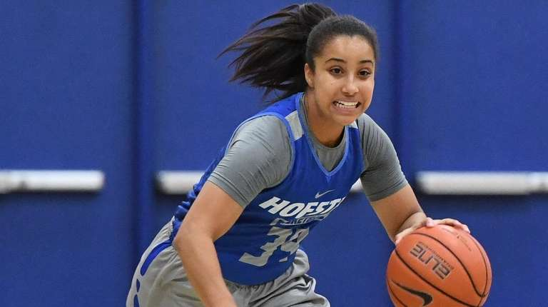 Hofstra will build its attack around  guard