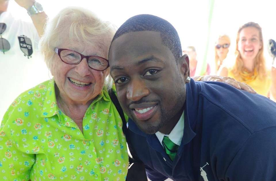 Dywane Wade and Dr. Ruth at SWAGG presents