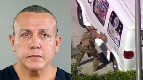 Cesar Sayoc was arrested in connection with the