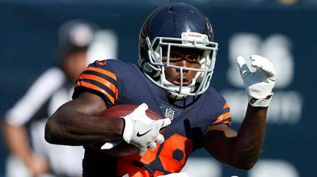 Bears running back Tarik Cohen  is a