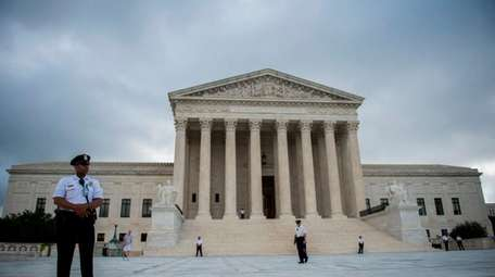 A view of the U.S. Supreme Court in