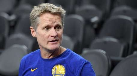 Head coach Steve Kerr of the Golden State