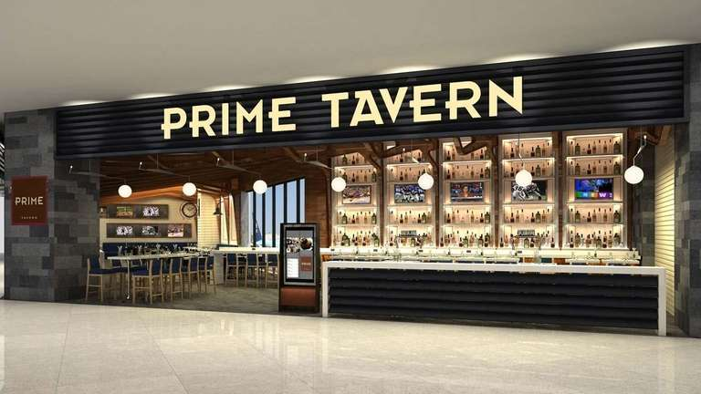 Artist's rendering of Prime Tavern at Delta's main