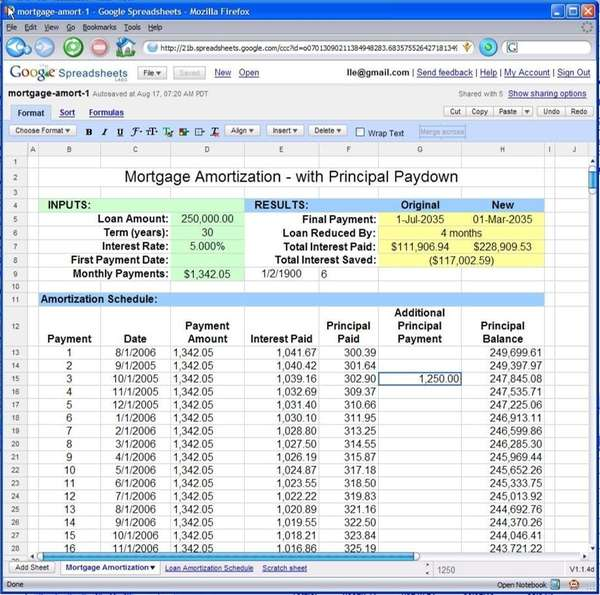 Google Spreadsheets, for a Sunday business story by