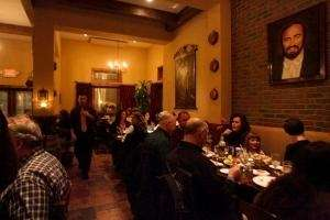 Dining room at La Volpe Ristorante, Center Moriches