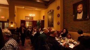 Dining room at La Volpe Ristorante, Center Moriches