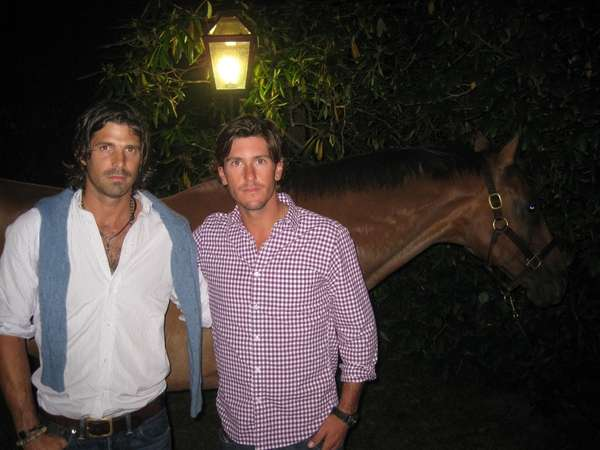 Polo stars Nacho Figueras and Nic Roldan with
