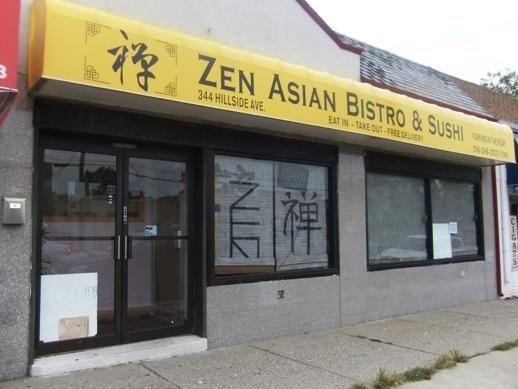 Exterior of Zen Asian Bistro & Sushi, pre-opening