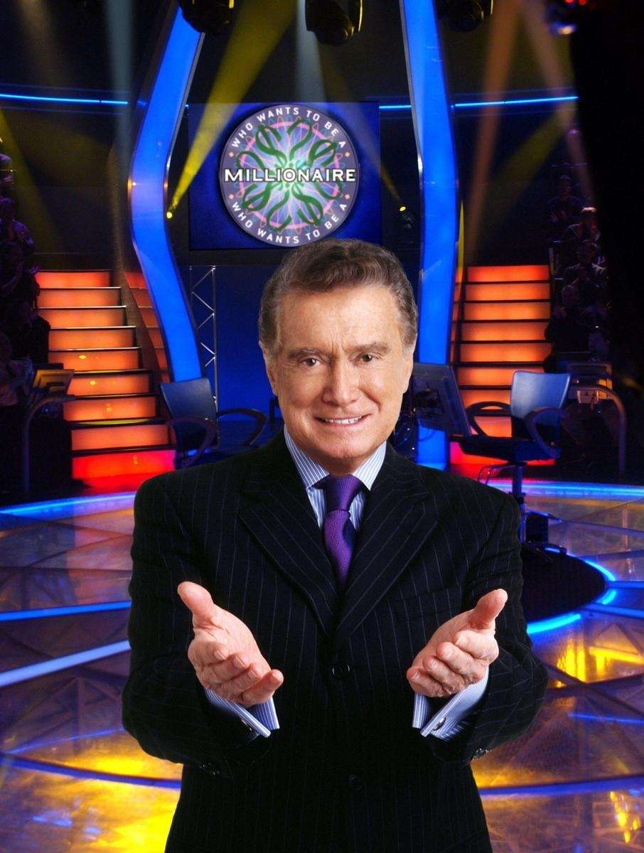 WHO WANTS TO BE A MILLIONAIRE - Regis