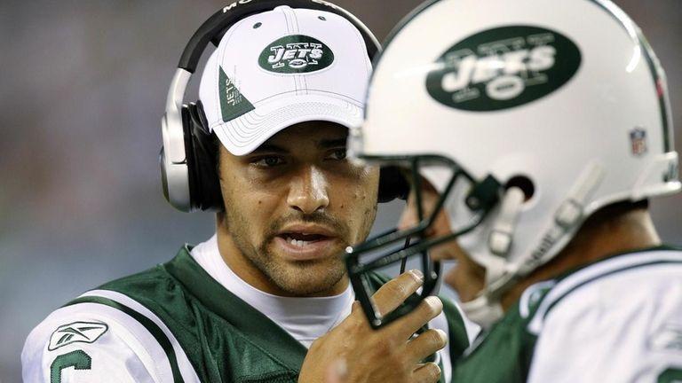 Mark Sanchez #6 of the New York Jets