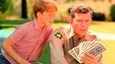 Andy Griffith and Ron Howard in a scene