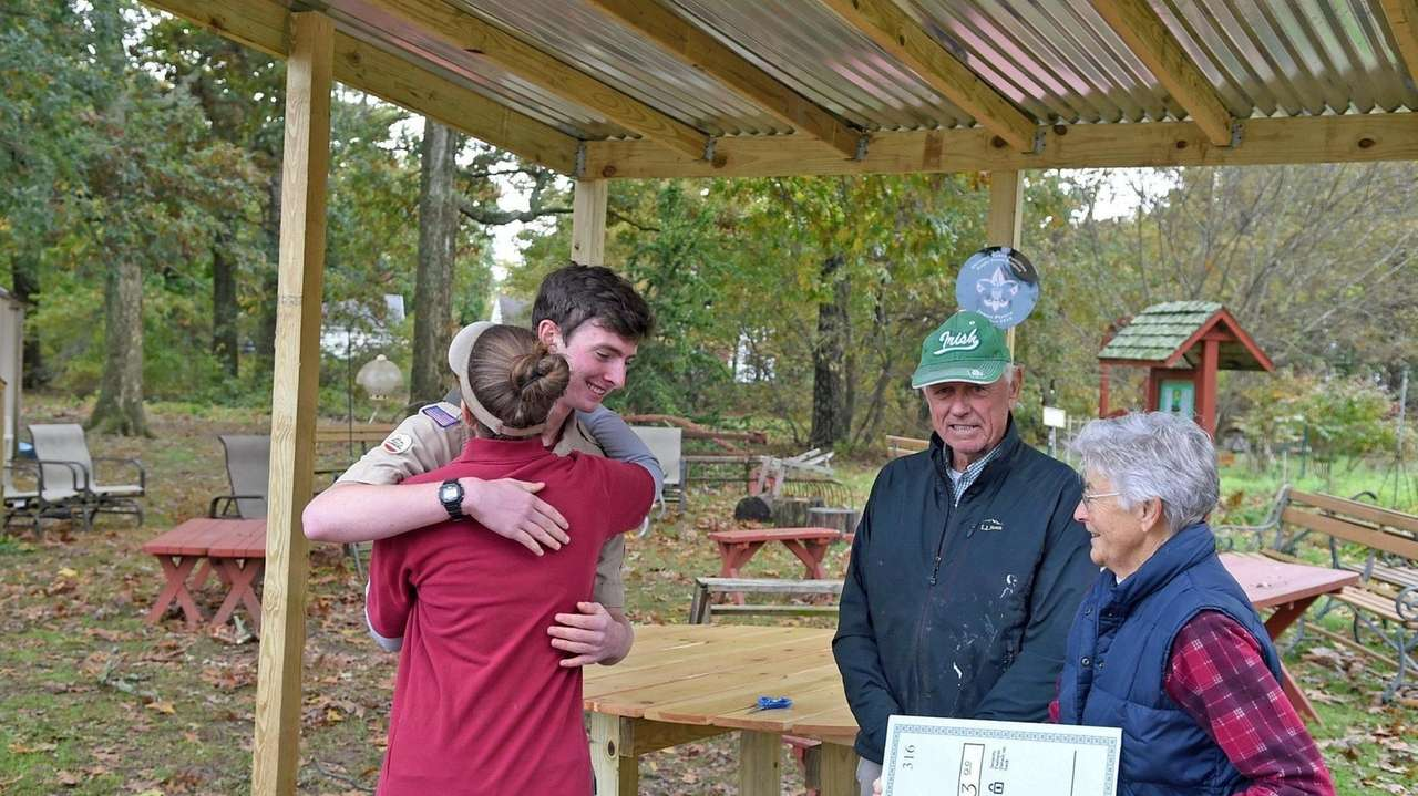 A localEagle Scout project has added a welcoming