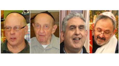 Danny Stein, Melvin Wax, Cecil Rosenthal and Richard