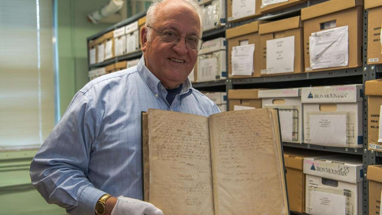 Islip Town historian George Munkenbeck said he found