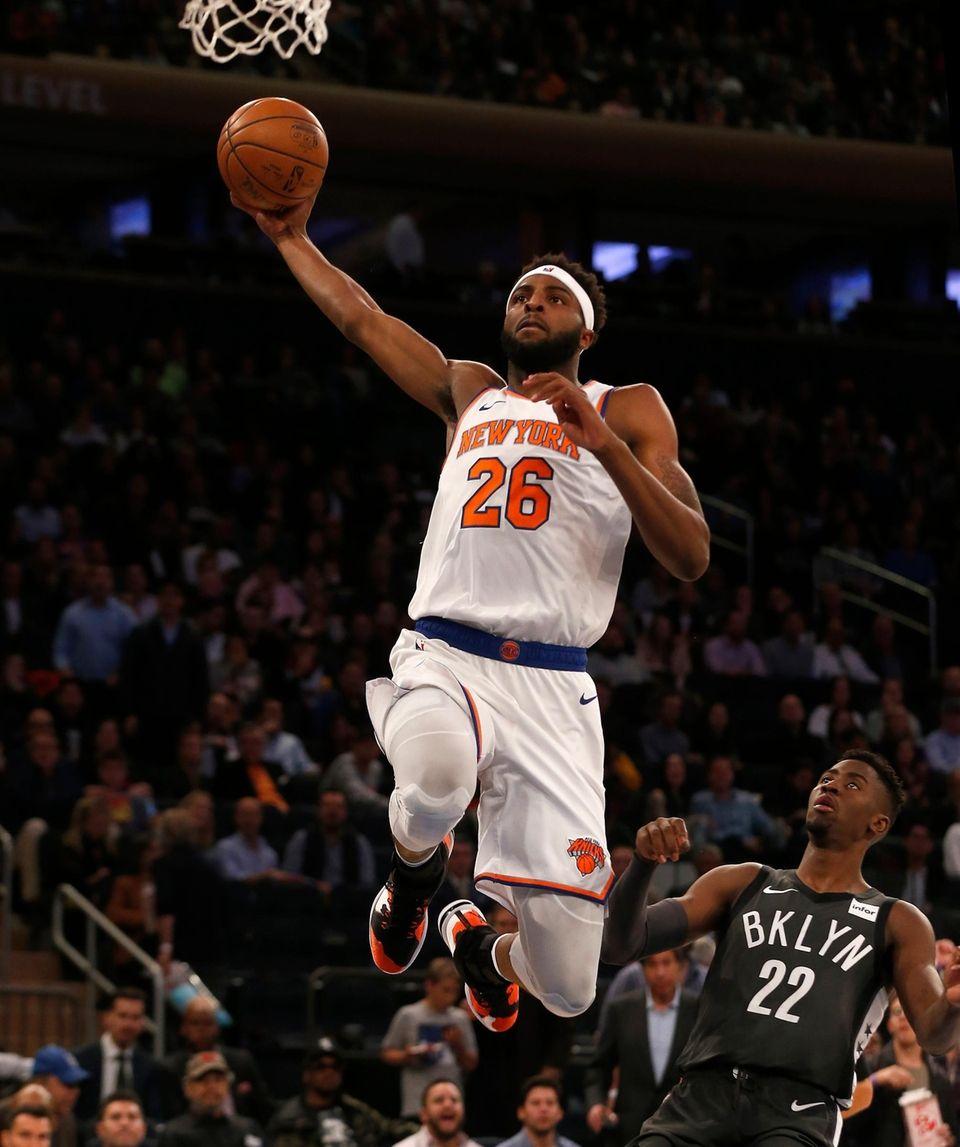 Mitchell Robinson #26 of the New York Knicks
