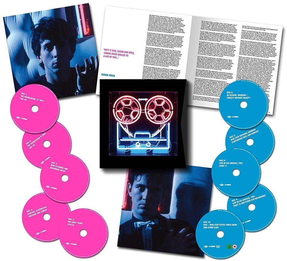 This massive retrospective (9 CDs, 1 DVD, Universal)