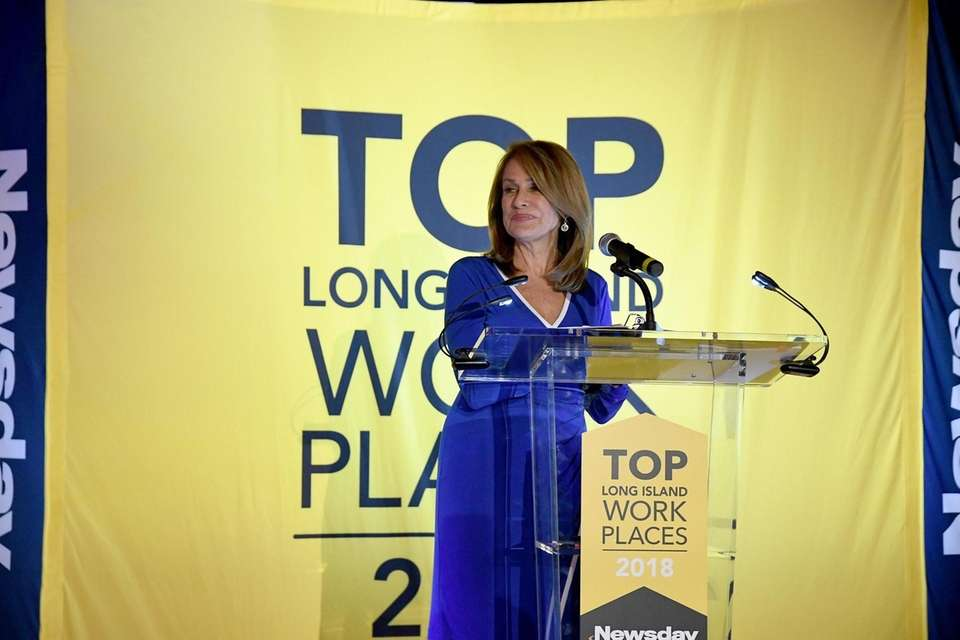 Carol Silva hosts the Long Island Top Workplaces