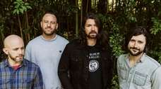Taking Back Sunday band members, from left: Shaun