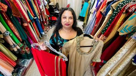 Poonam Jain, 58, of Plainview, and owner of