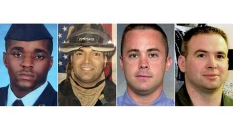 Sgt. Dashan Briggs, Master Sgt. Christopher J. Raguso,