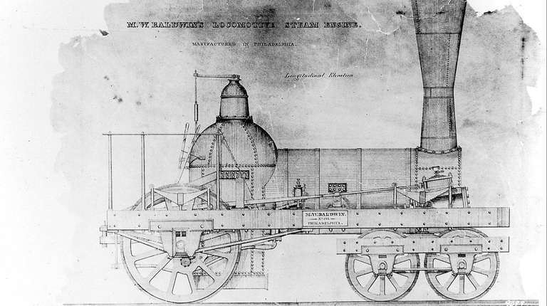 A diagram from about 1835 shows the type