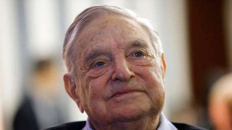George Soros attends the European Council on Foreign