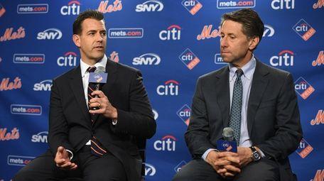 New Mets general manager Brodie Van Wagenen and