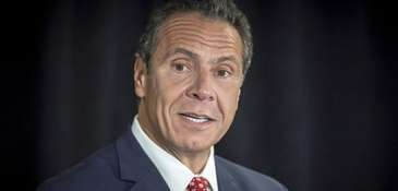 Gov. Andrew M. Cuomo during a news conference