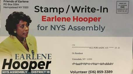 "A mailer sent by ""Friends of Earlene"" tells"