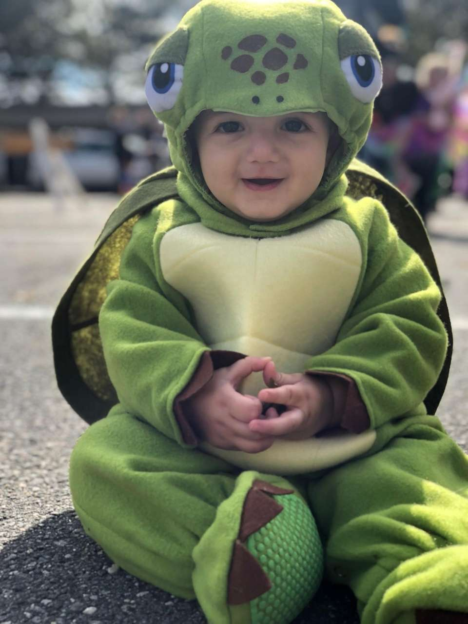 Connor?s First Halloween Parade