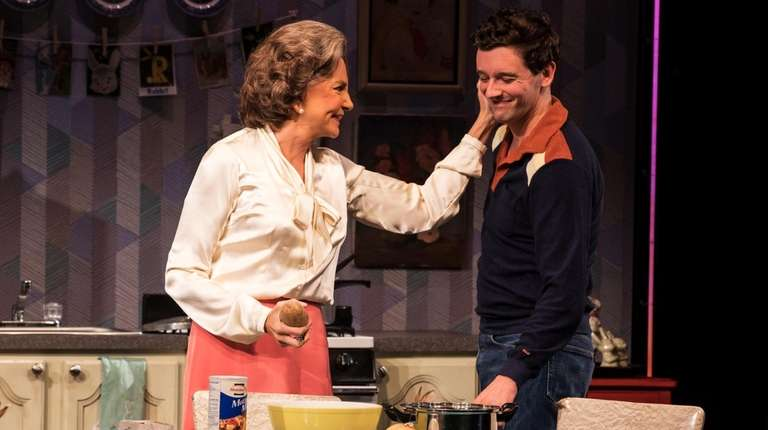 Mercedes Ruehl and Michael Urie play mother and