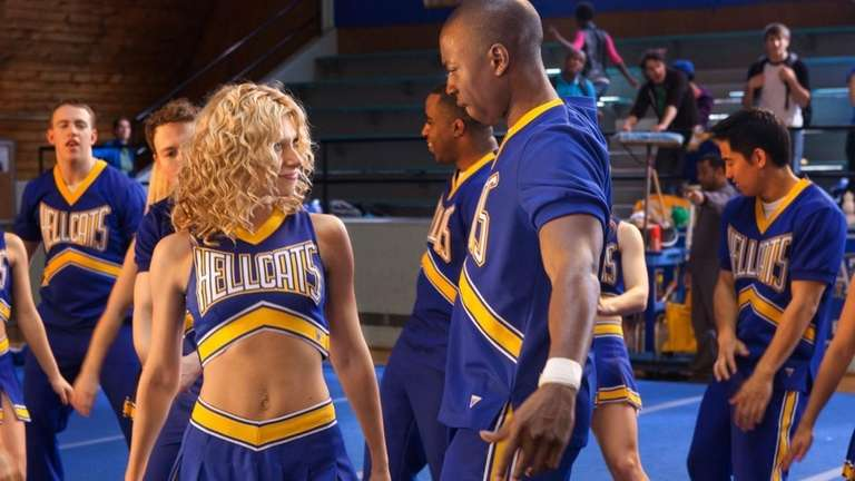 Aly Michalka, left, and Robbie Jones are shown