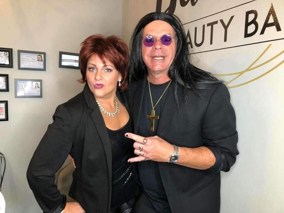 Ozzy and Sharon have some fun on Halloween!!