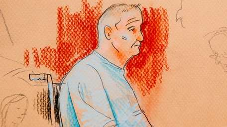A courtroom sketch shows Robert Bowers, the Pittsburgh