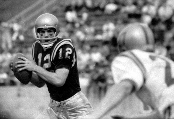 1963: ROGER STAUBACH Quarterback, Navy Roger Staubach's 1,356-point