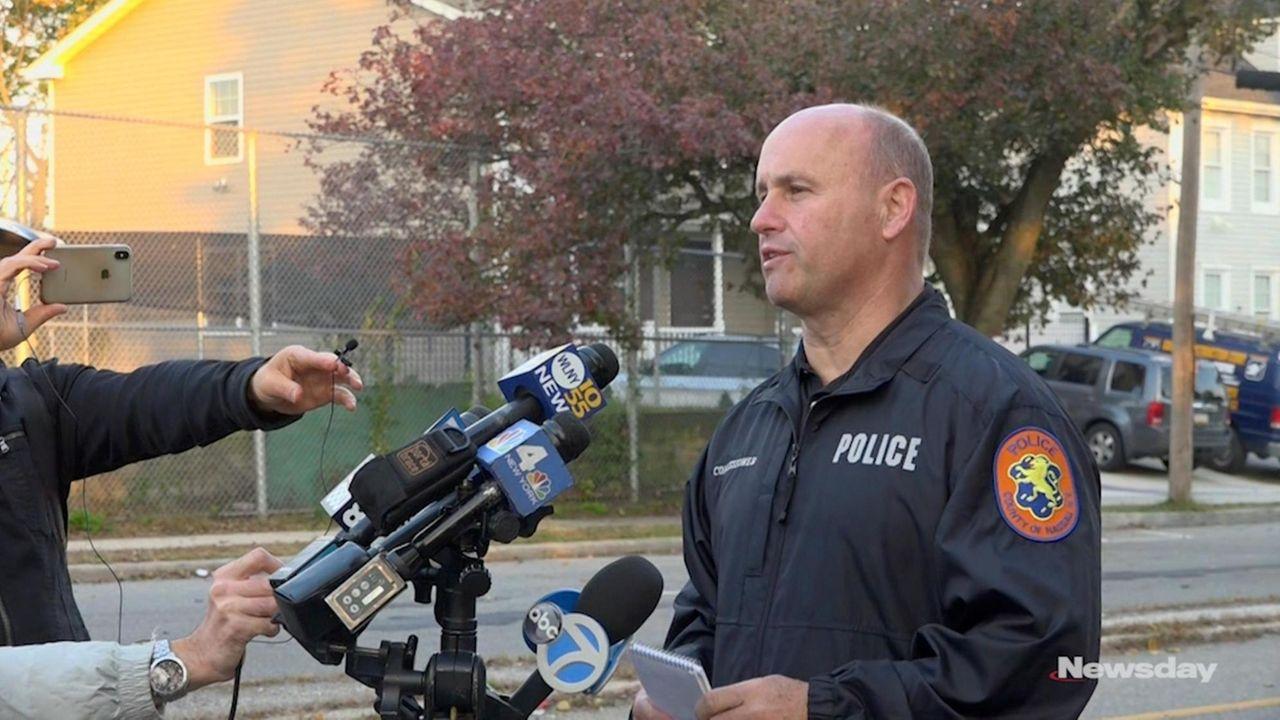 A multivehicle car crash struckfour teenagers in Elmont