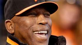 Willie McCovey, the sweet-swinging Hall of Famer nicknamed