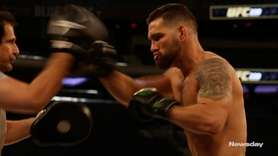 On Wednesday, Chris Weidman discussed his upcoming fight with