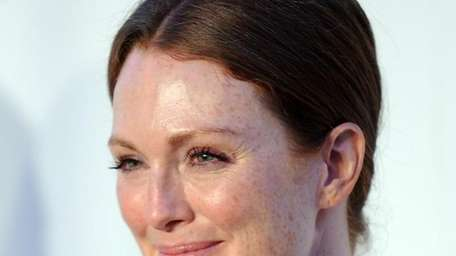 Actress Julianne Moore attends Fashion's Night Out: The