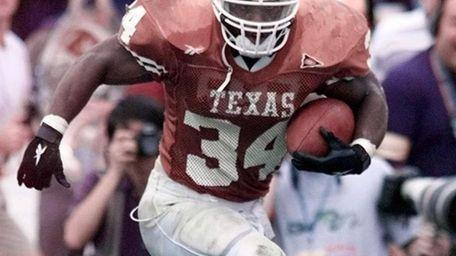 1998: RICKY WILLIAMS Running Back, Texas Ricky Williams