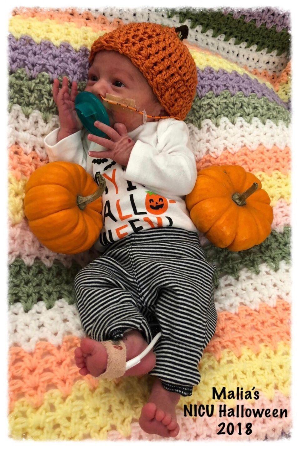 My daughter Malia was born two months premature
