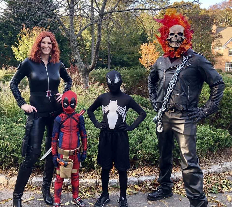 We do a family costume every year and